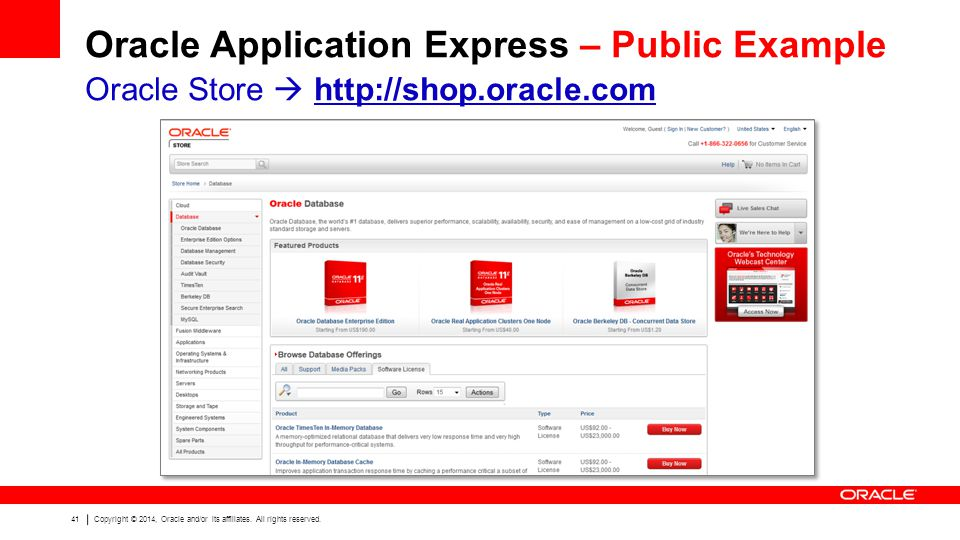 41 Copyright © 2014, Oracle and/or its affiliates.