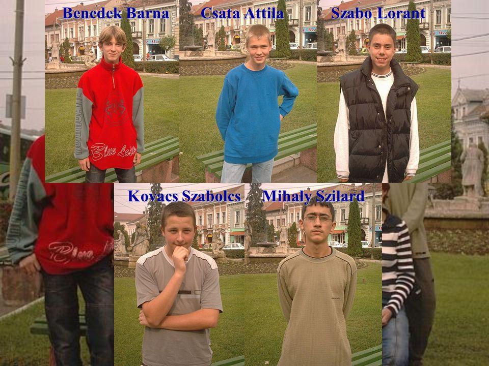 Our team Benedek Barna Csata Attila Szabo Lorant Kovacs Szabolcs Kovacs Szabolcs Mihaly Szilard