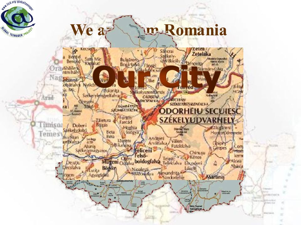 We are from Romania From Harghita county