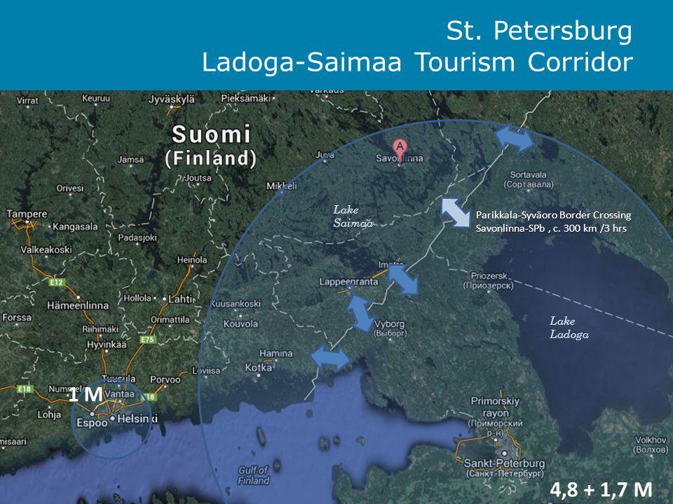 Ladoga-Saimaa-St.Petersburg Tourism Corridor Common vision Ladoga-Saimaa-St.