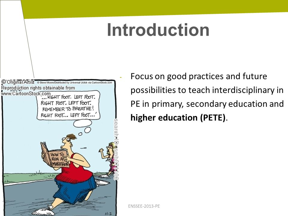 Introduction ENSSEE-2013-PE Part I: interdisciplinary teaching in PEPE using pedagogical cases, ….