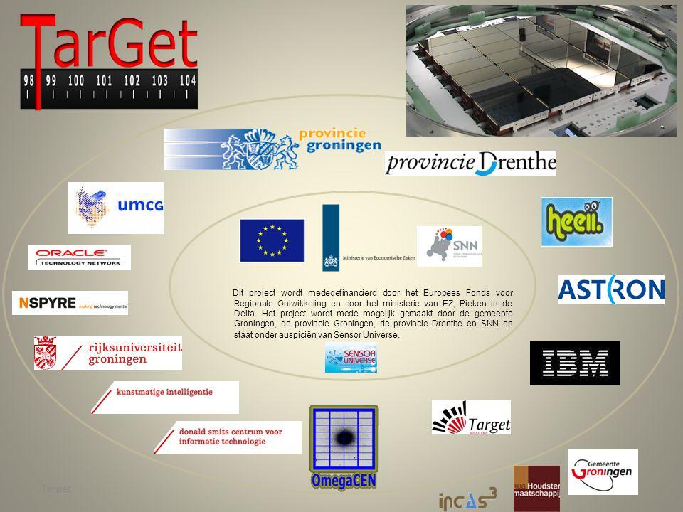 Target Dit project wordt medegefinancierd door het Europees Fonds voor Regionale Ontwikkeling en door het ministerie van EZ, Pieken in de Delta.