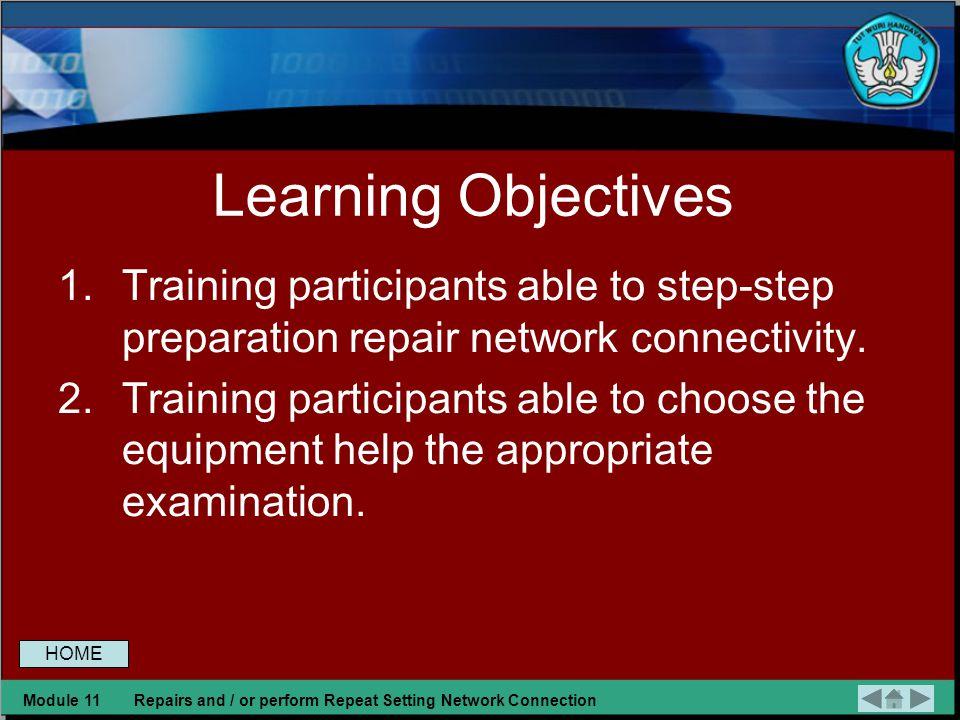 COMPETENCE MAPING 23 Mendiagnosis permasalahan pengoperasian PC yang tersambung jaringangnosis Melakukan perbaikan dan/ atau setting ulang koneksi jar