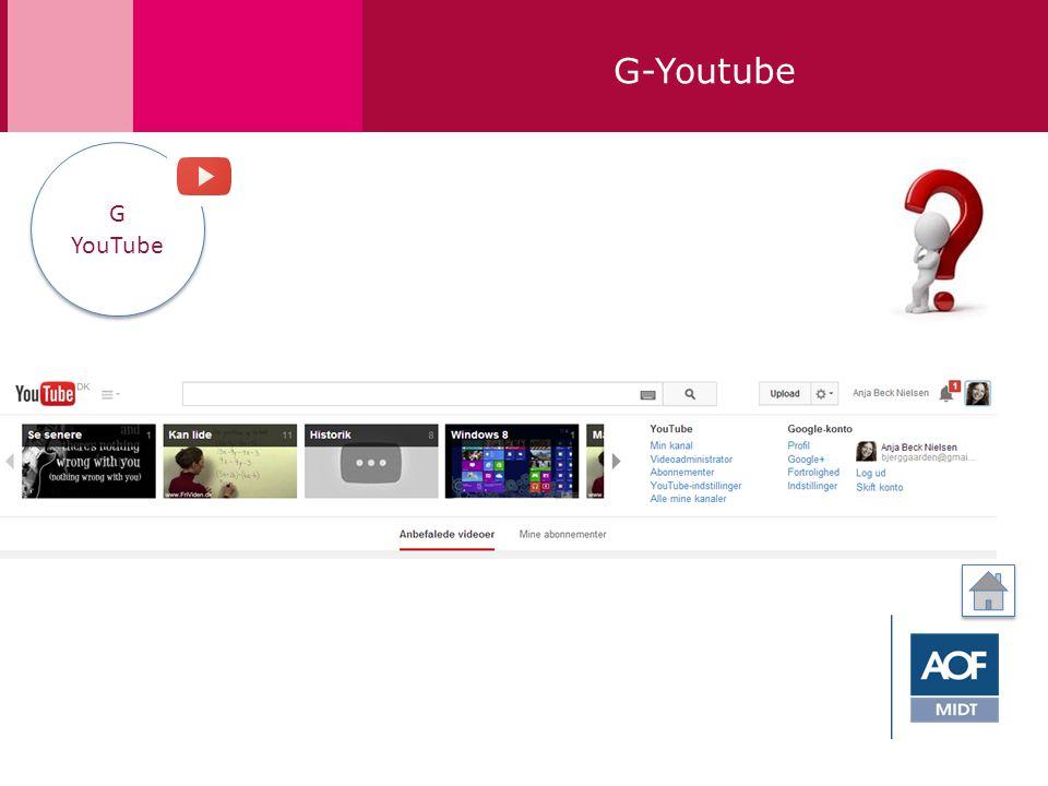 G-Youtube G YouTube G YouTube