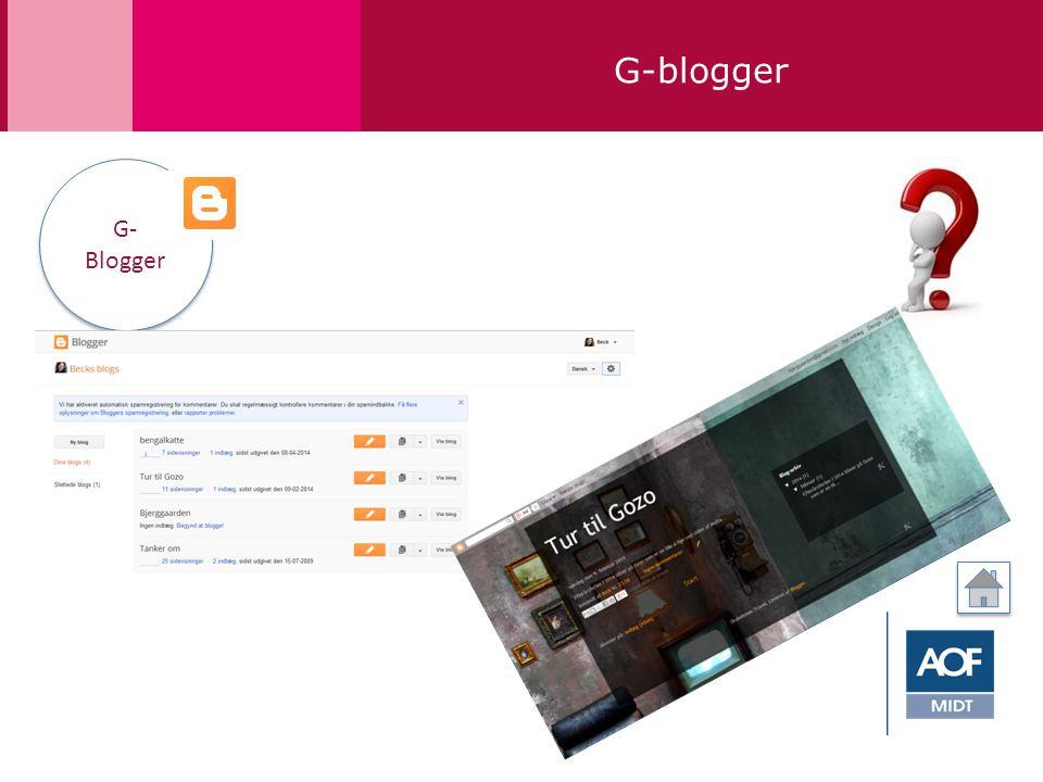 G-blogger G- Blogger G- Blogger