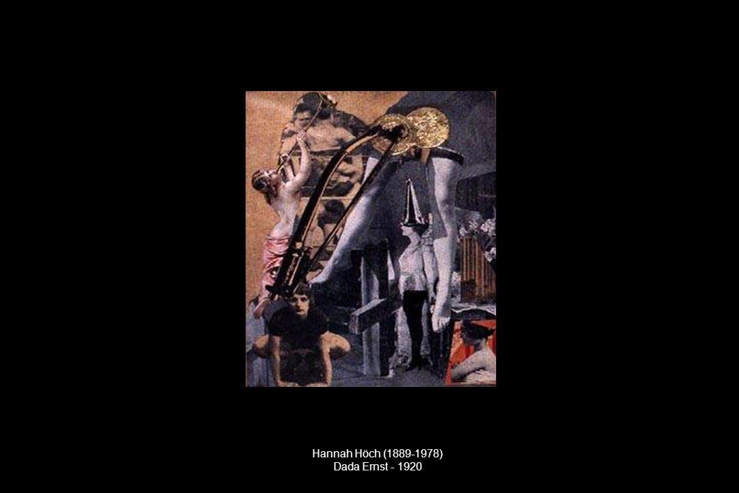 Hannah Höch (1889-1978) Dada Ernst - 1920