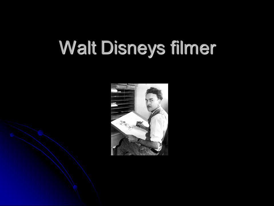 Walt Disneys filmer