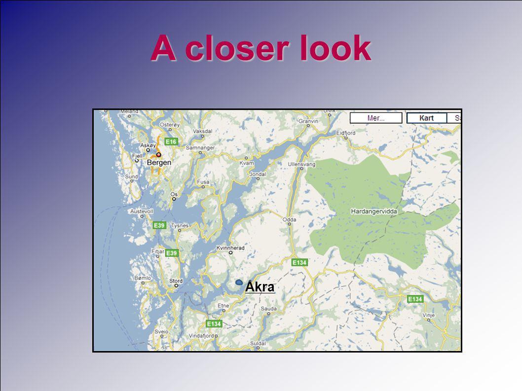 A closer look Åkra