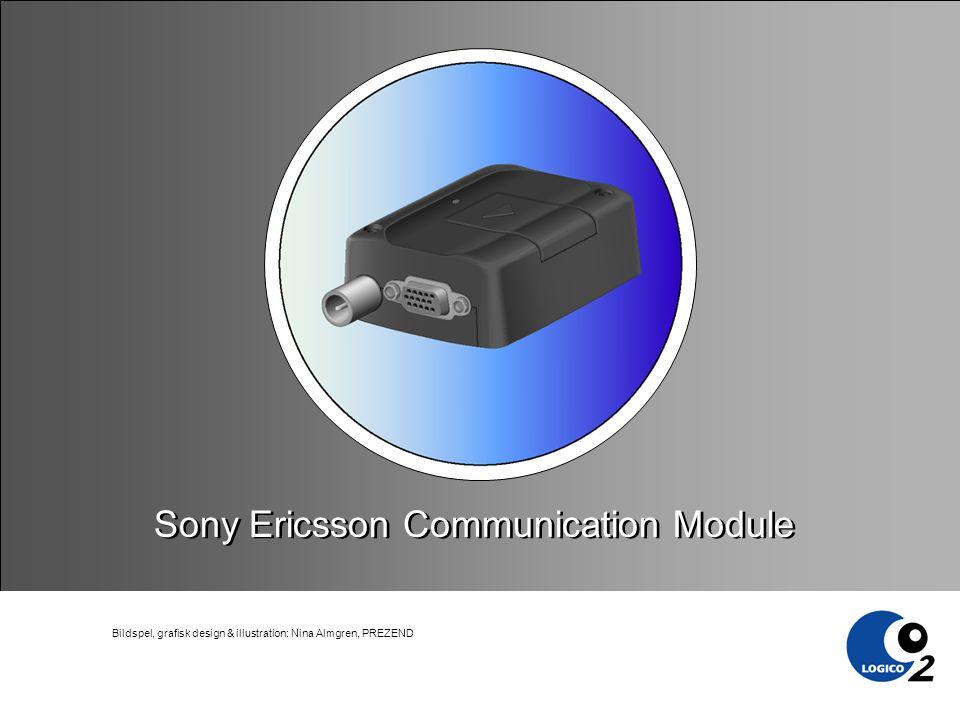 Bildspel, grafisk design & illustration: Nina Almgren, PREZEND Sony Ericsson Communication Module