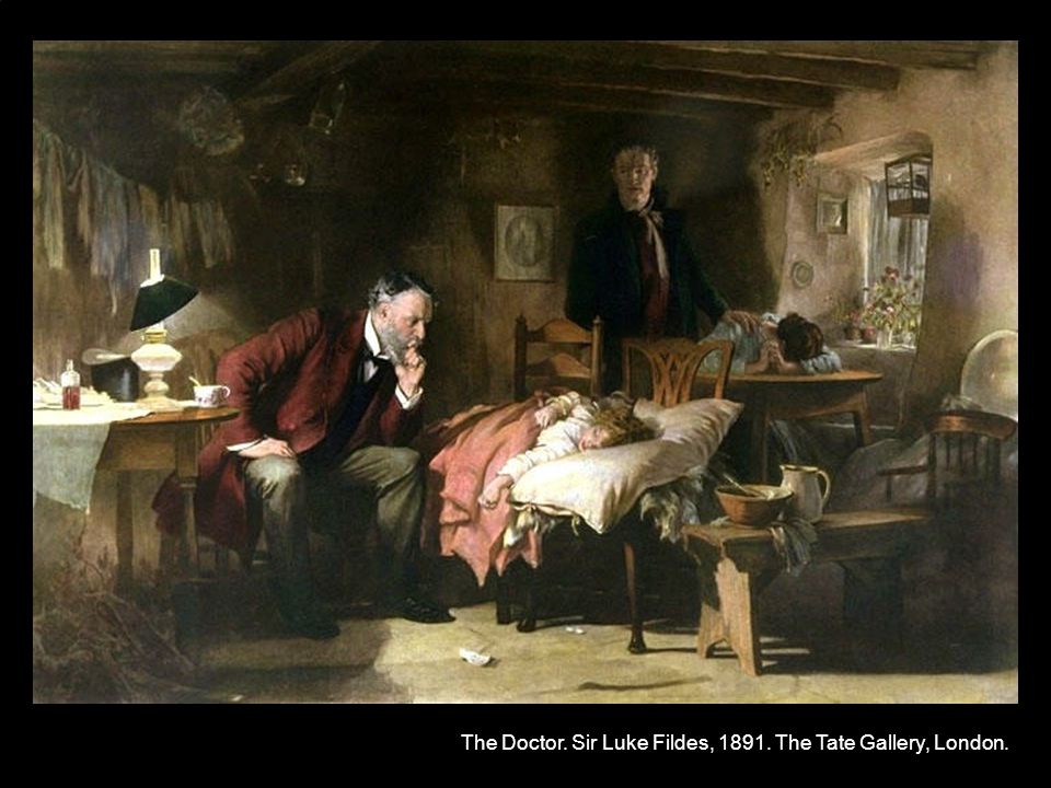 2Island 2011-01-26 Birgir Jakobsson The Doctor. Sir Luke Fildes, 1891. The Tate Gallery, London.