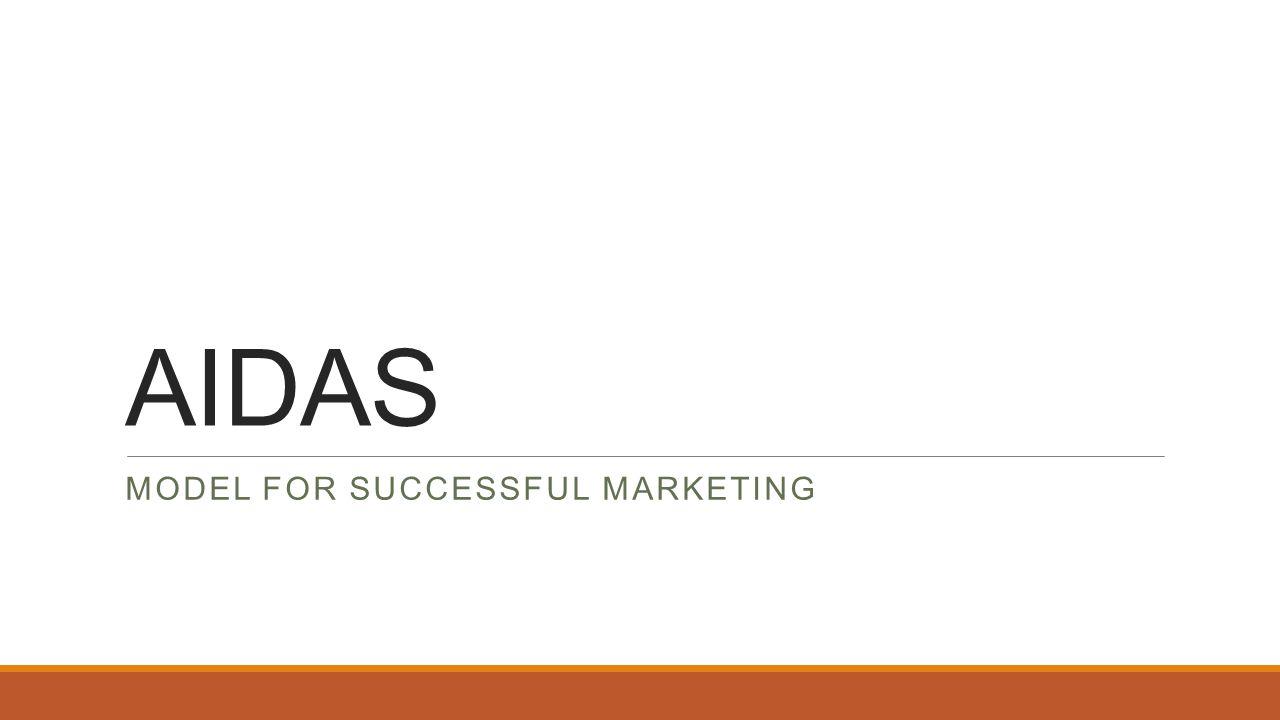 AIDAS MODEL FOR SUCCESSFUL MARKETING