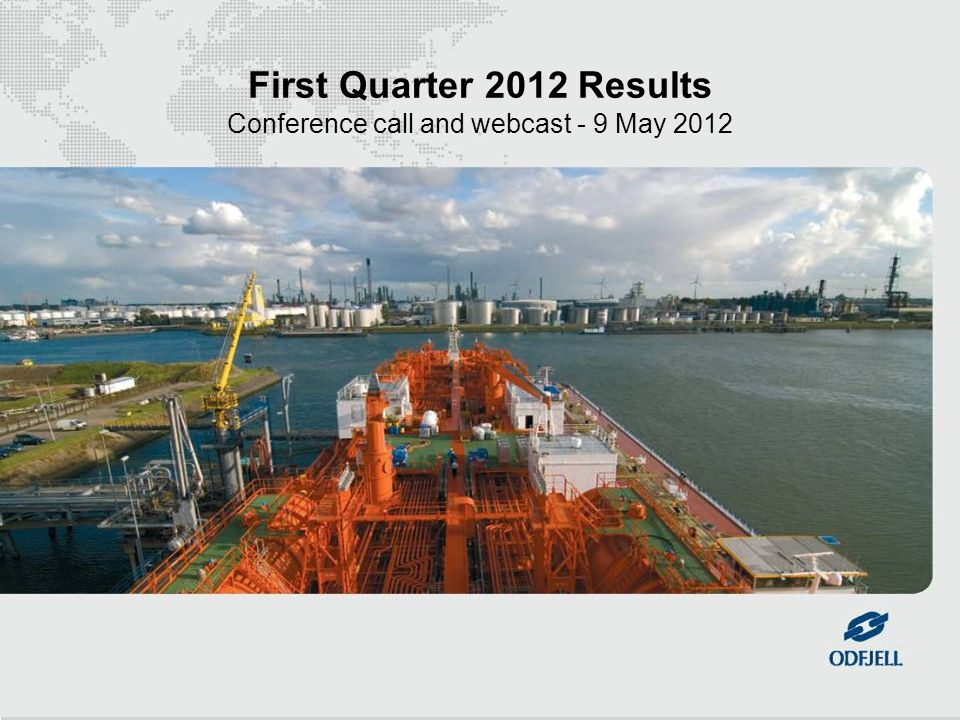 1 First Quarter 2012 Results Conference call and webcast - 9 May 2012