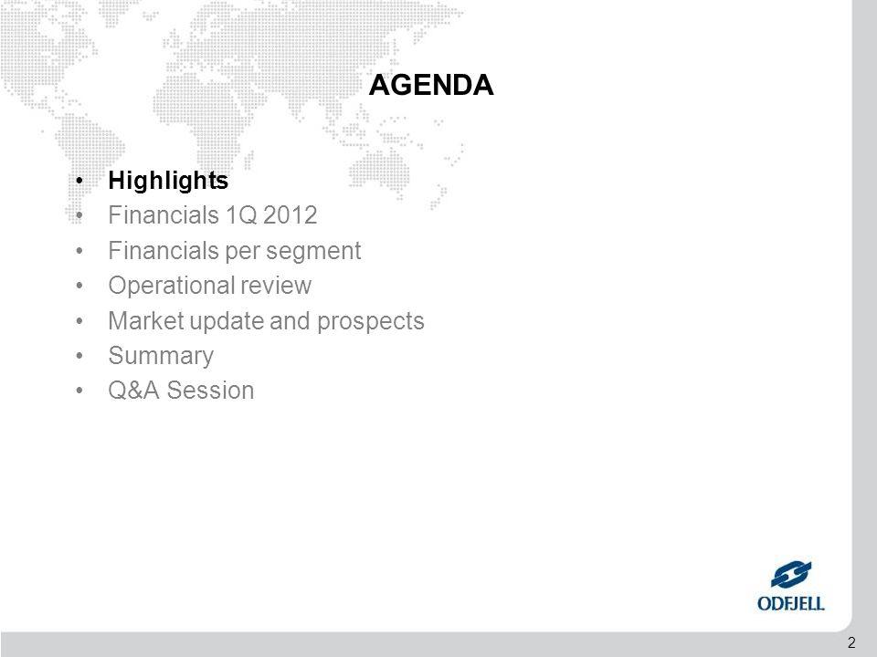 33 AGENDA •Highlights •Financials Q4 2011 •Financials per segment •Operational review •Market Update / Prospects •Summary •Q&A Session