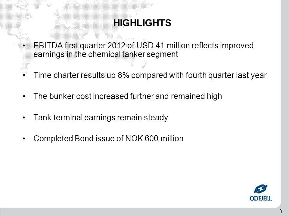 4 AGENDA •Highlights •Financials 1Q 2012 •Financials per segment •Operational review •Market update and prospects •Summary •Q&A Session