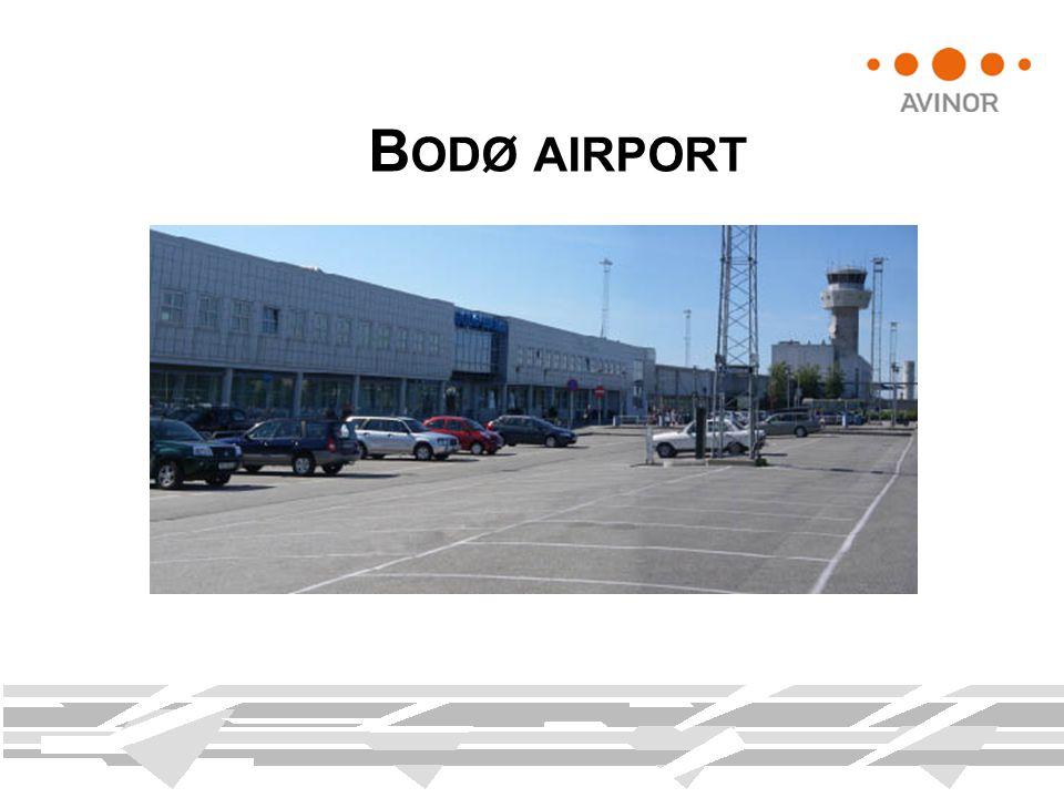 B ODØ AIRPORT