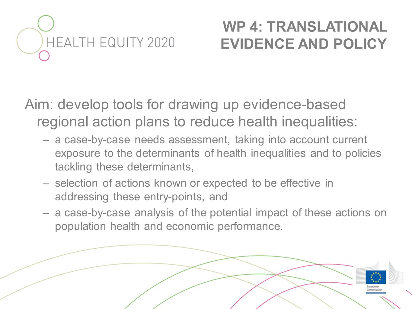TOOLKIT - PART 1 Case-by case needs assessment •Determine most important indicators to include •Challenges with availability &validity of regional data •Sensitivity for regional differences •User friendliness