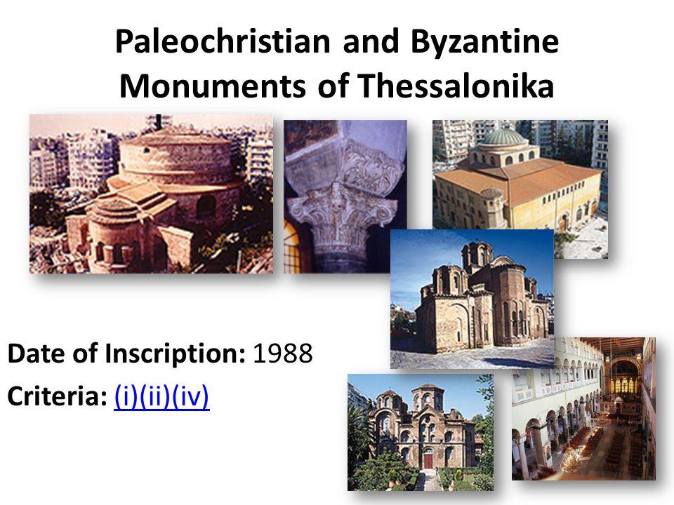 Historic Centre (Chorá) with the Monastery of Saint John the Theologian and the Cave of the Apocalypse on the Island of Pátmos Date of Inscription: 1999 Criteria: (iii)(iv)(vi)(iii)(iv)(vi)