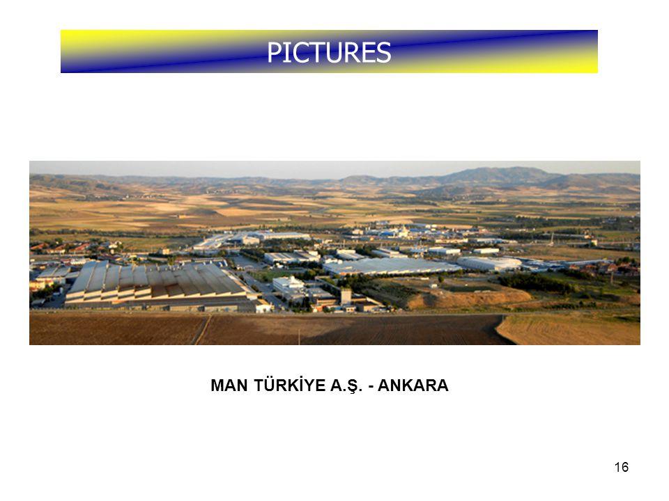 16 PICTURES MAN TÜRKİYE A.Ş. - ANKARA