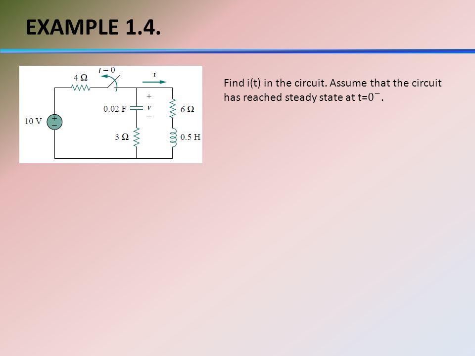 EXAMPLE 1.4.