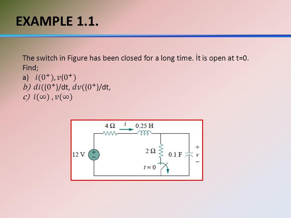 EXAMPLE 1.1.
