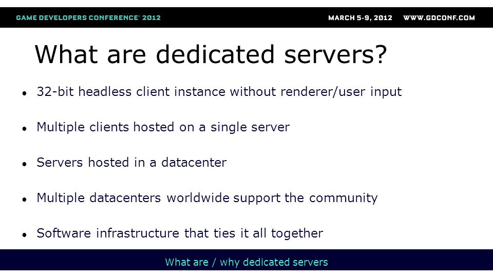 MS Cert  needs to be able to run the server in their environment  needs to be able to see the client attached to a server  liked to see that the server is attached to the client Challenges of MS Cert Environment  Closed environment  Not accessible to our admin framework or network  Reverse IP lookup cannot find their server Solutions  Always keep the ability to run the server by itself without any DB connections  Set cert environment to only one use datacenter  therefore all IPs return one datacenter ID Submission process Implementation rollout