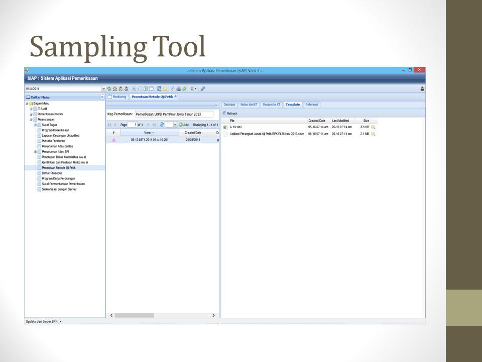 Sampling Tool