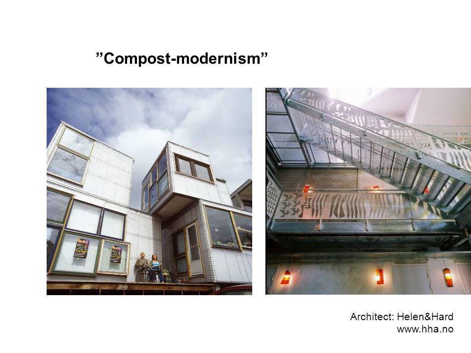 Architect: Helen&Hard www.hha.no Compost-modernism