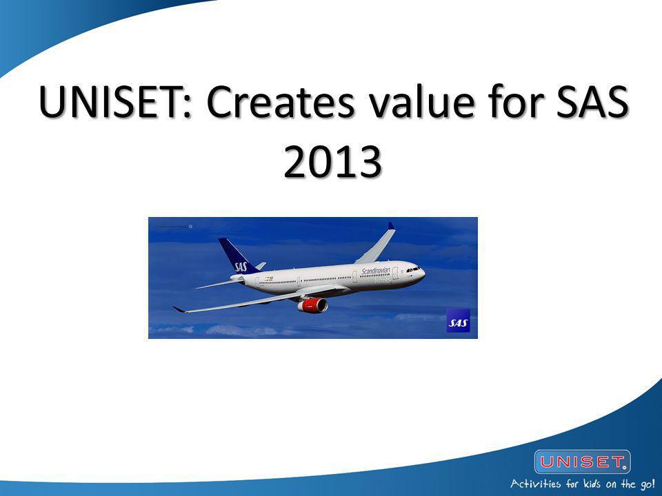 UNISET: Creates value for SAS 2013 UNISET: Creates value for SAS 2013