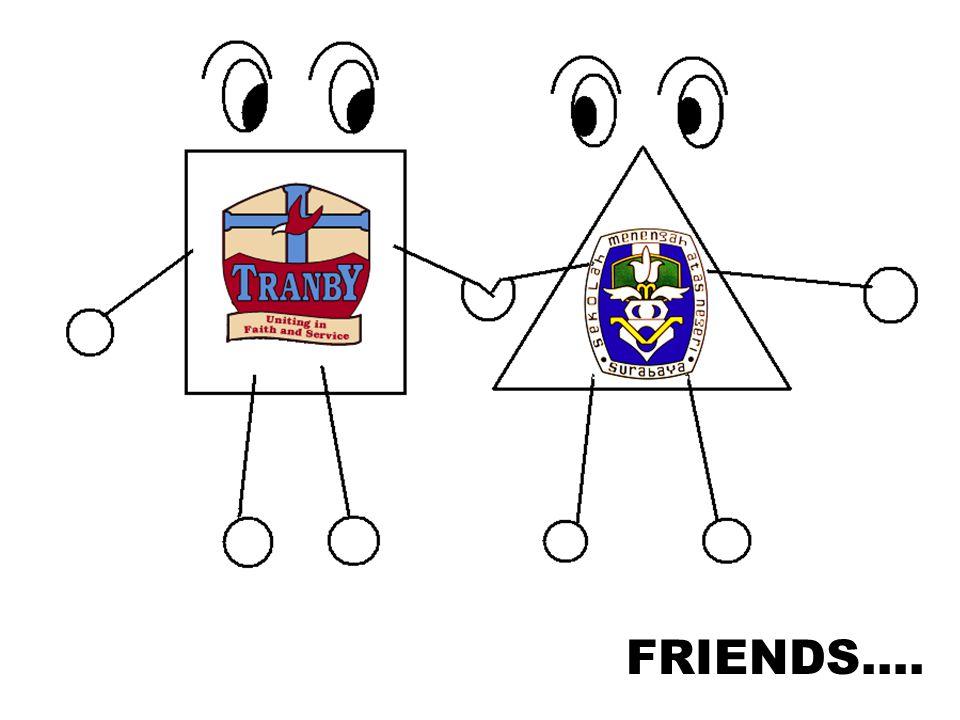 FRIENDS….
