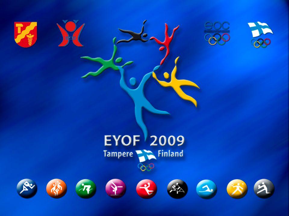 Finnish Olympic Committee City of Tampere Hämeen Liikunta ja Urheilu The European Olympic Committees