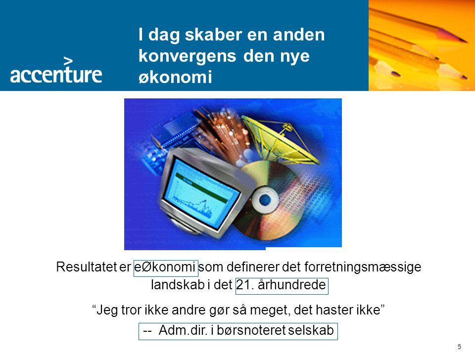 5 Resultatet er eØkonomi som definerer det forretningsmæssige landskab i det 21.