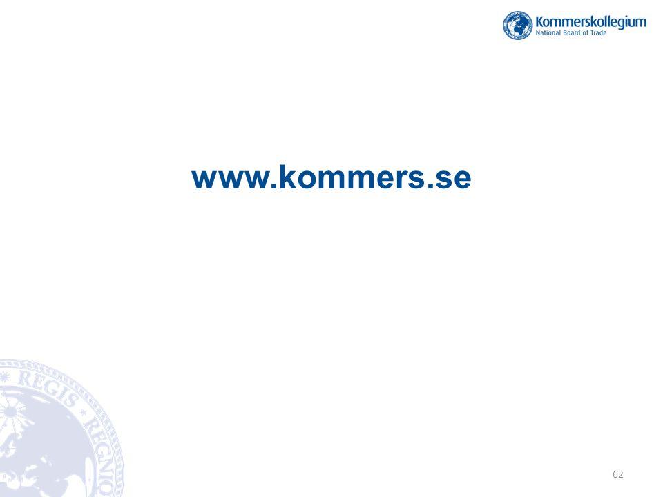 www.kommers.se 62