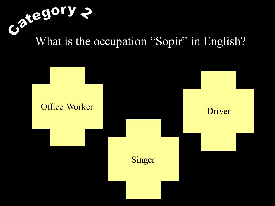 What is the occupation Guru in English? Teacher Graphic Designer Doctor