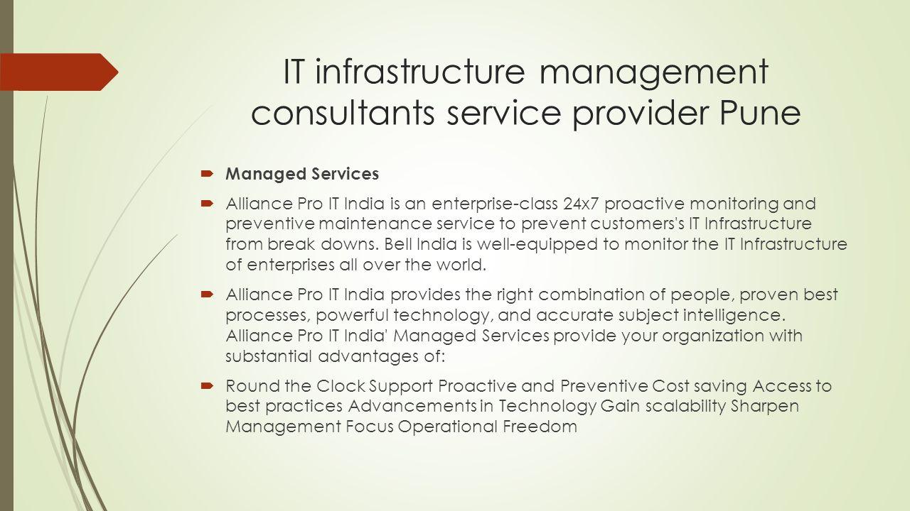 It infrastructure service provider pune alliance pro it pvt ltd 8 it infrastructure xflitez Image collections