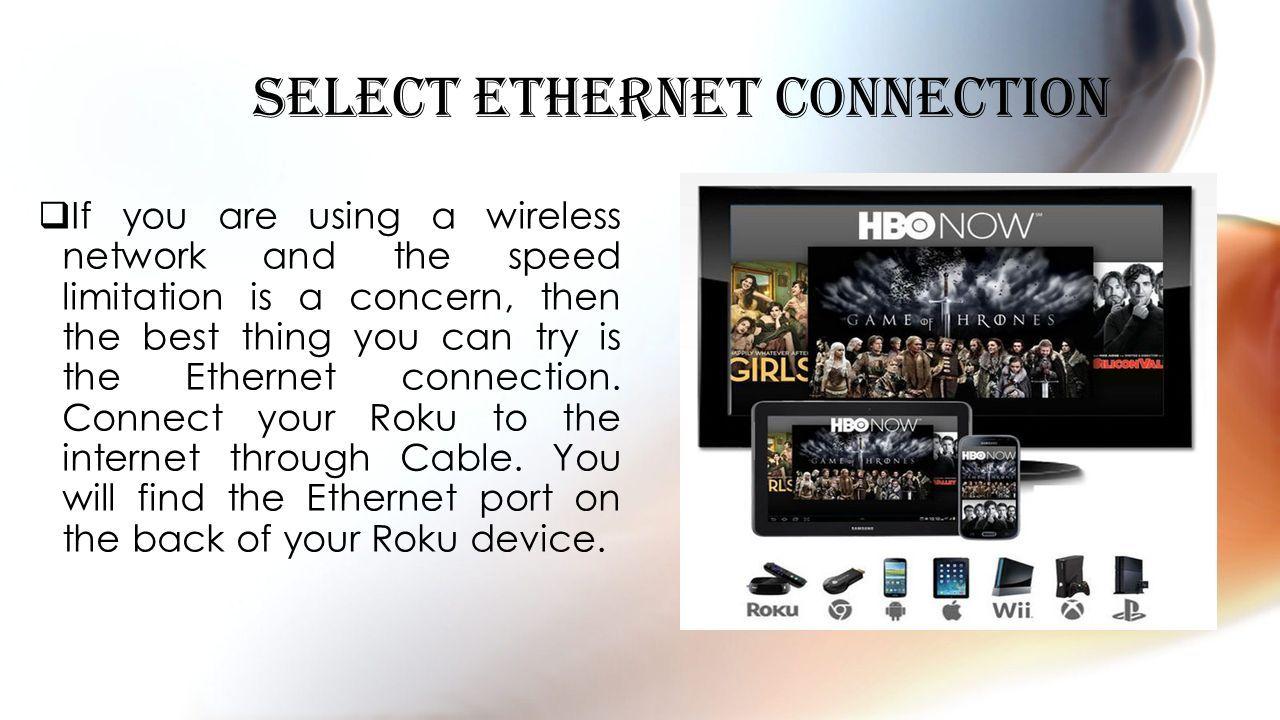 Charmant Roku Kabelgebundenes Ethernet Router Setup Ideen ...