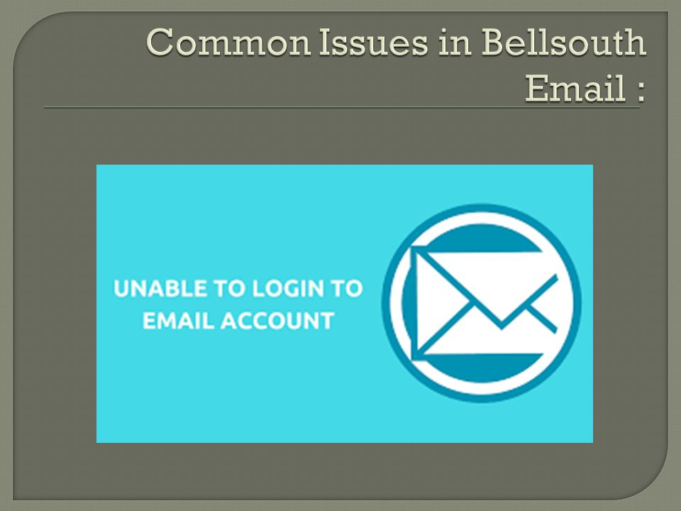6 bellsouth email provides efficient services to their customers but sometimes if faces few disruptions too for that they can contact bellsouth email