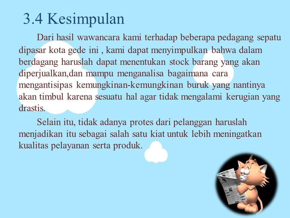 Contoh Makalah Wawancara Pedagang Sembako Download Contoh Lengkap Gratis