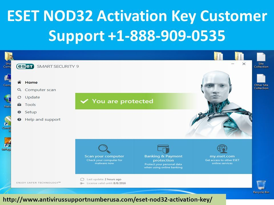eset nod mobile security key