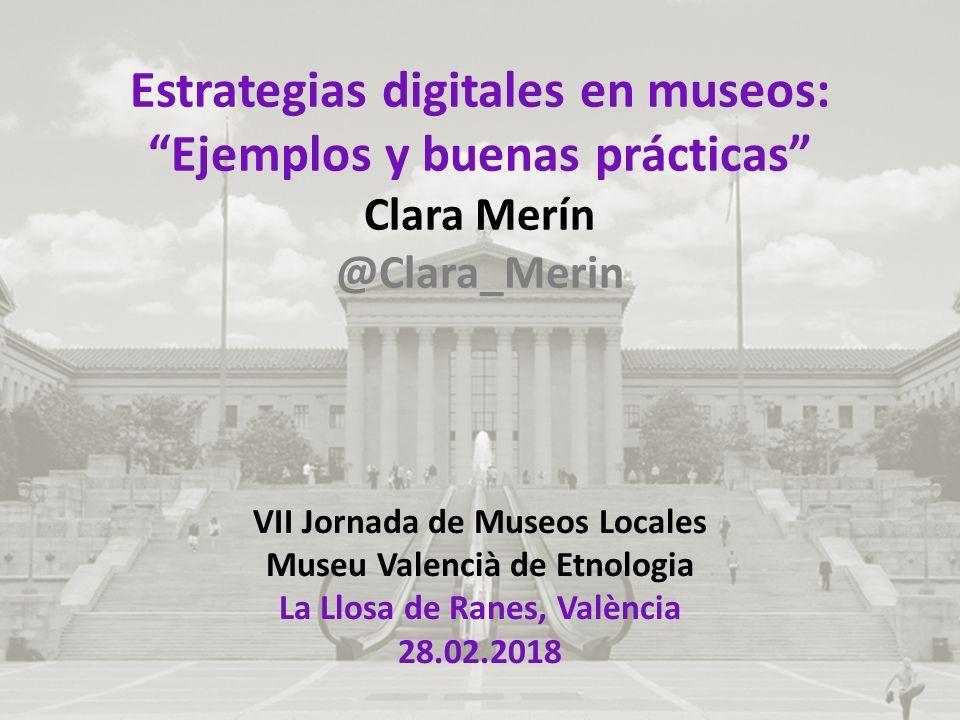 VII Jornada de Museos Locales Museu Valencià de Etnologia La Llosa de Ranes, València 28.02.2018