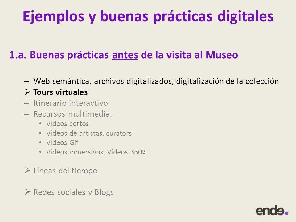 Ejemplos y buenas prácticas digitales 1.a.