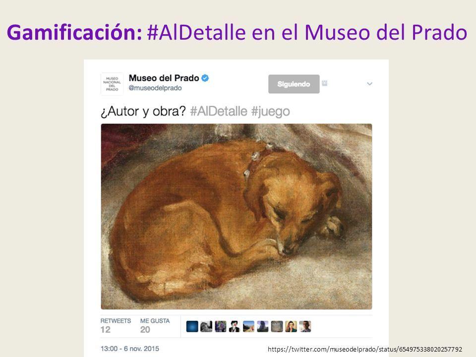 Gamificación: #AlDetalle en el Museo del Prado https://twitter.com/museodelprado/status/654975338020257792