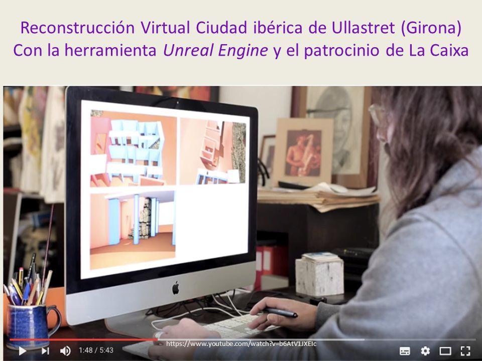 Reconstrucción Virtual Ciudad ibérica de Ullastret (Girona) Con la herramienta Unreal Engine y el patrocinio de La Caixa https://www.youtube.com/watch v=b6AtV1JXEIc