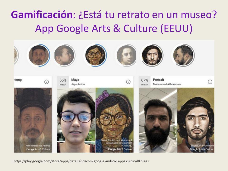 Gamificación: ¿Está tu retrato en un museo.