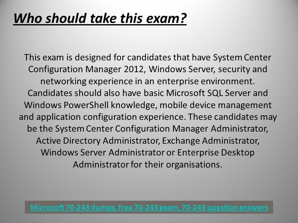 Microsoft System Center Configuration Manager 2012 Pdf