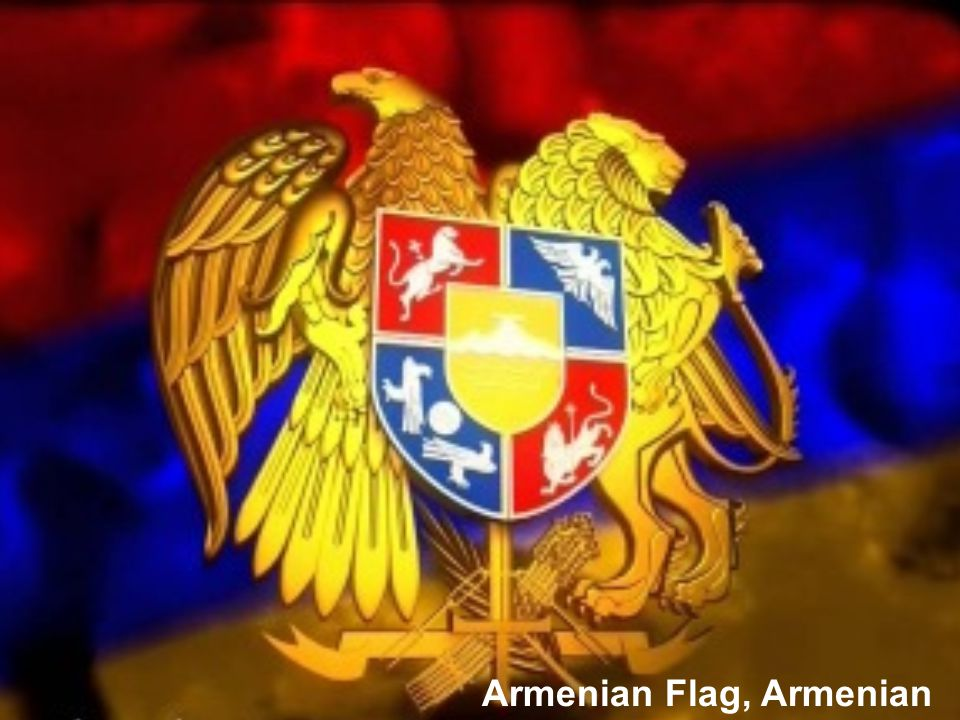 Armenian Flag, Armenian coat of arms
