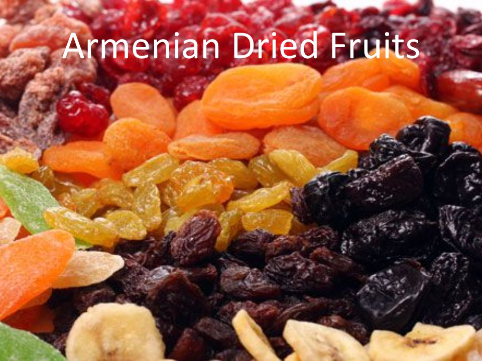 Armenian Dried Fruits