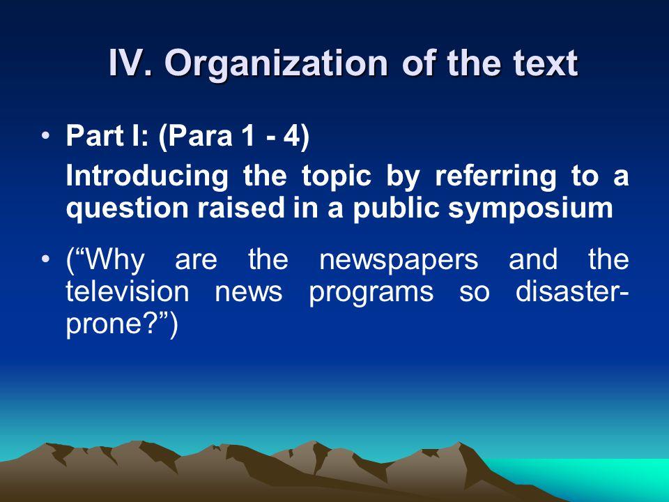 Text II: Should the Press be Human?