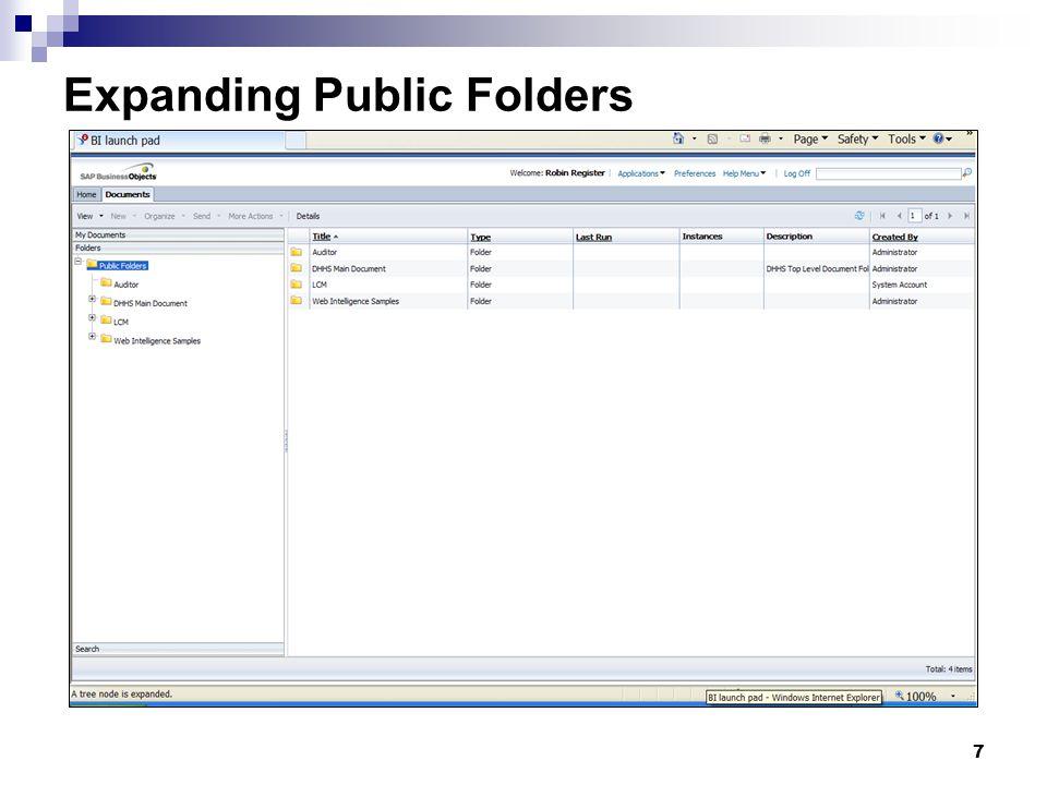 7 Expanding Public Folders