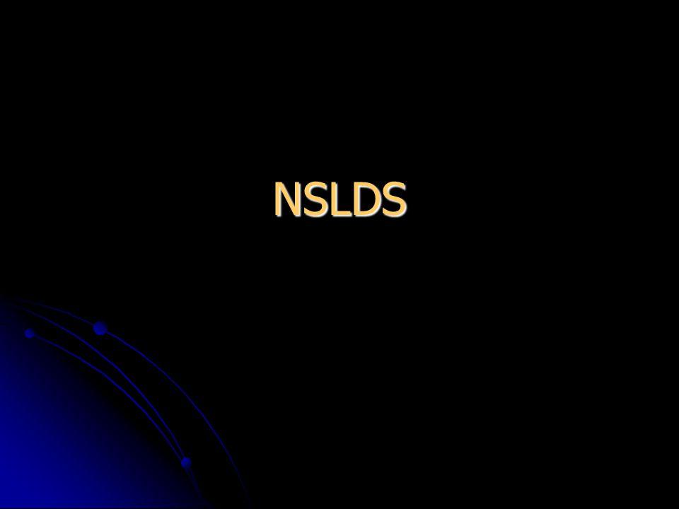 NSLDS