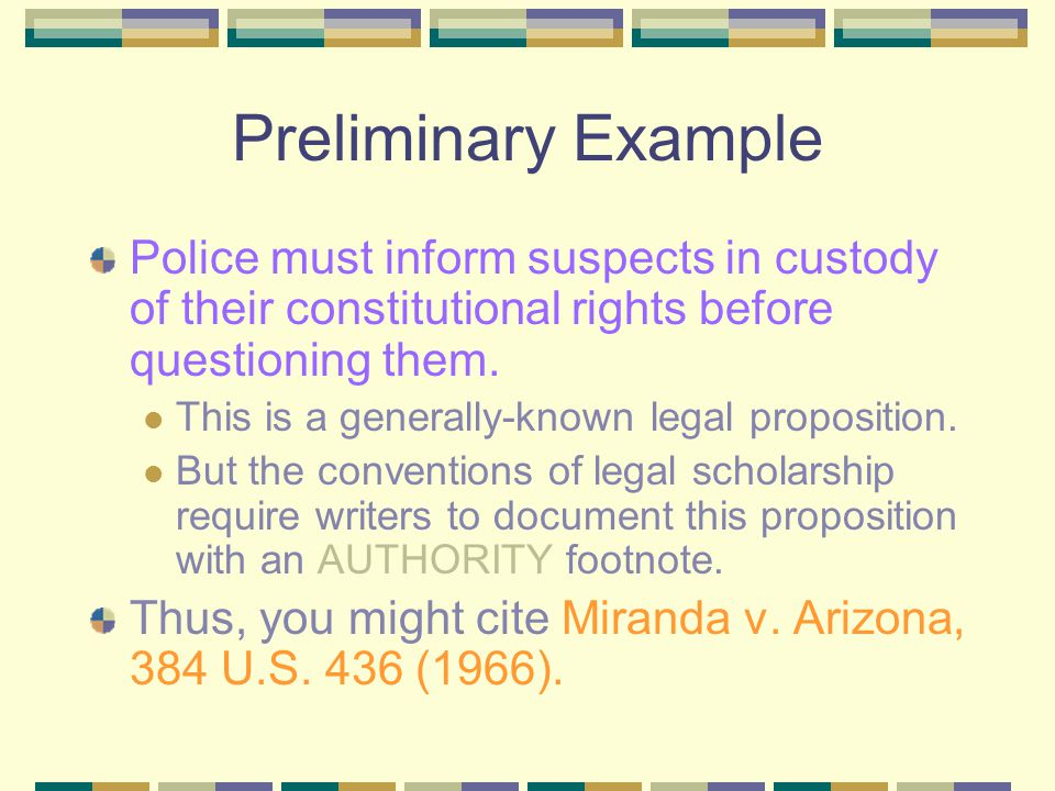 Why Use Footnotes. In scholarly legal writing, footnotes serve three primary functions: Authority.